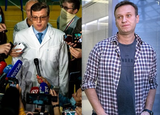 Doctor who treated President Putin's critic, Alexei Navalny, after he was 'poisoned with novichok' vanishes during hunting trip in Russia