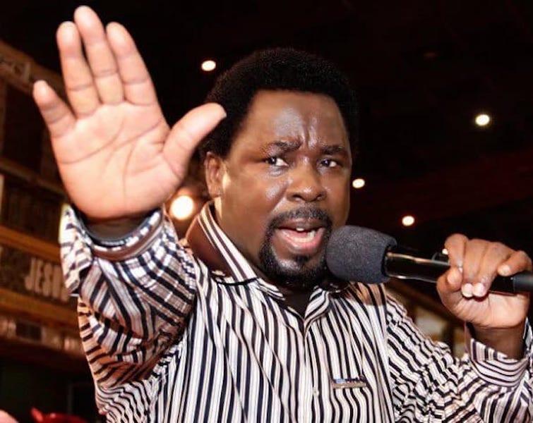 Nigeria won't break up - TB Joshua