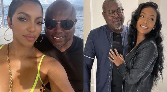 Reality star, Porsha Williams confirms engagement to co-star Falynn Guobadia's estranged husband Simon weeks after her divorce filing