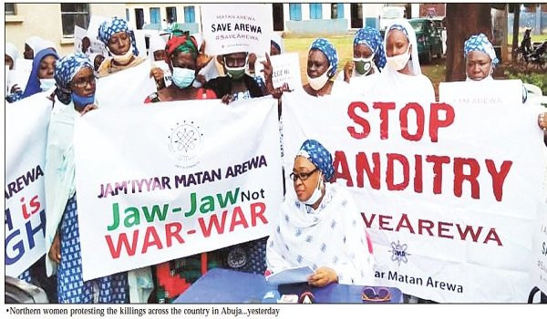 Northern women demand referendum to end insecurity