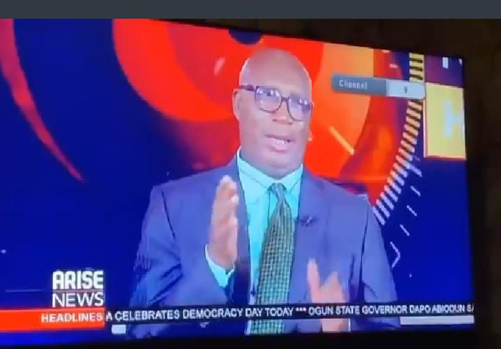 Newscaster expresses disappointment after President Buharis democracy day speech