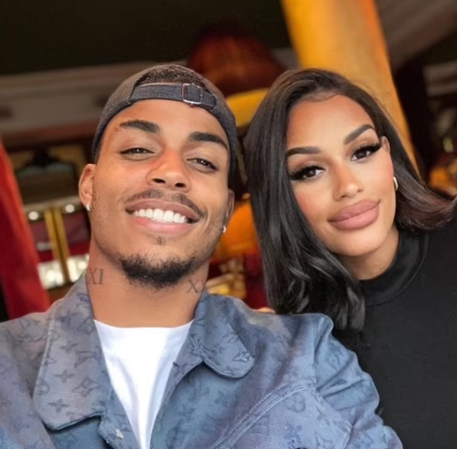 Footballer, Mario Lemina's girlfriend Fanny Neguesha reveals their home was burgled with armed thugs 'tying her and her friends before stealing 250k worth of jewellery