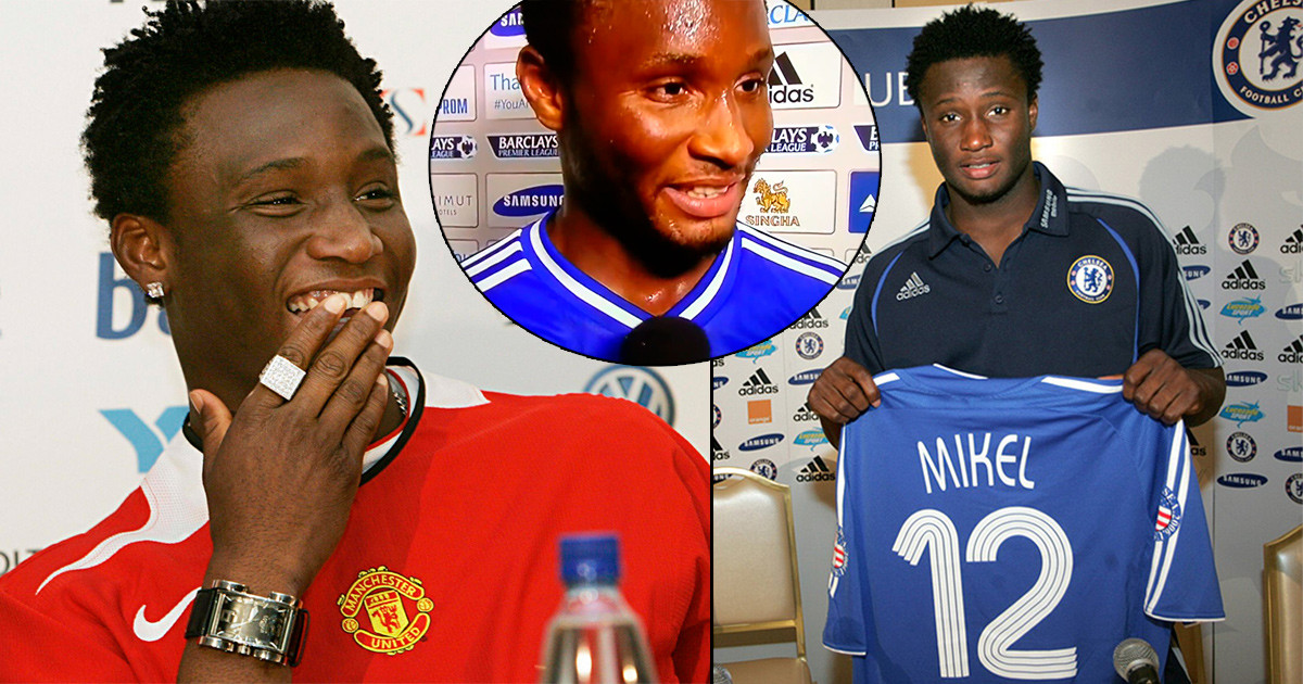 Mikel Obi finally reveals why he snubbed Manchester United for Chelsea