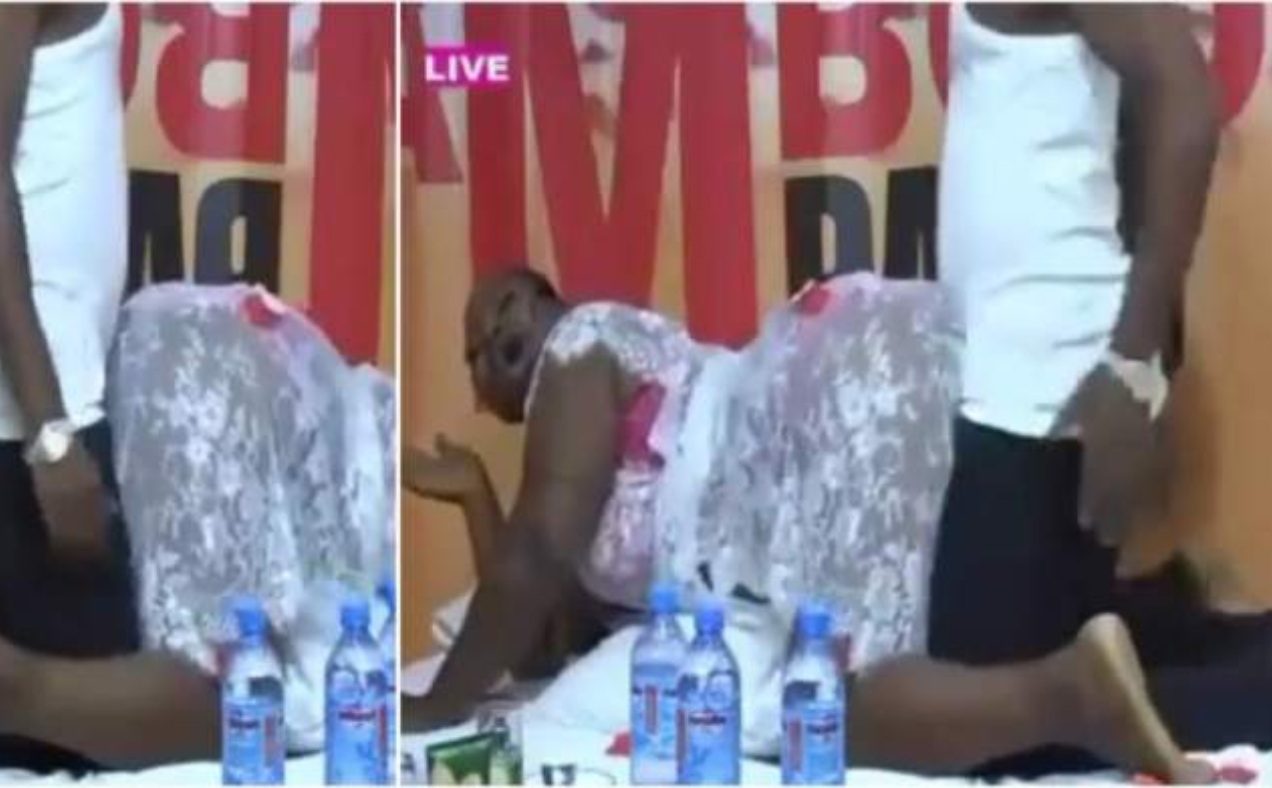 Woman and her partner show their bedroom skills on live TV while teaching viewers how to achieve maximum sexual pleasure (video)