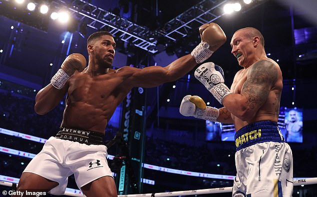 'I'm tired of f*cking losing ' - Anthony Joshua says