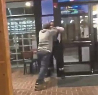 Image result for Pizza Manager fired after video of him beating up a black woman surfaces
