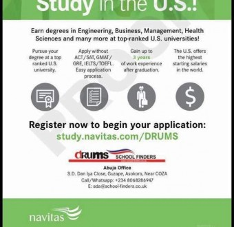 Study in the US! Register now to begin your application