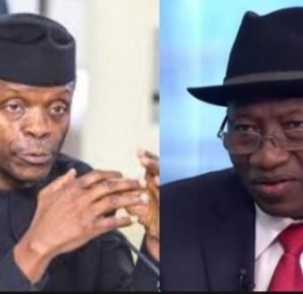 Goodluck Jonathanshared N150bn two weeks to 2015 polls - VP, Yemi Osinbajo