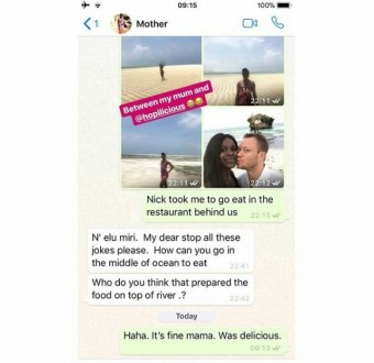 Lol. Check out this chat between a Nigerian mother and her European-based daughter