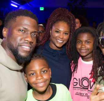 Kevin Hart and ex-wife Torrei Hart come together to throw daughter an epic Black Panther themed birthday bash