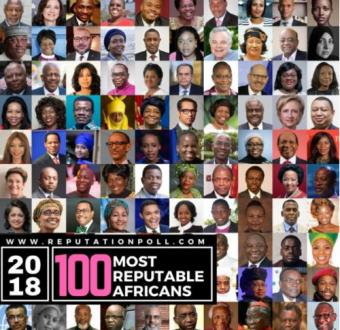 Chimamanda, Fela Durotoye, Tony Elumelu, Oby Ezekwesili, Sanusi L Sanusi and more Nigerians top list of 100 most reputable Africans