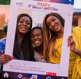 #WomenWithDrive enjoy a night out with Taxify in honour of International Women's Day