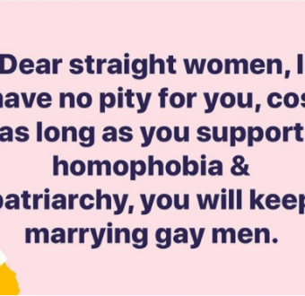 Bisi Alimi slams straight women, says he has no pity for them for marrying gay men