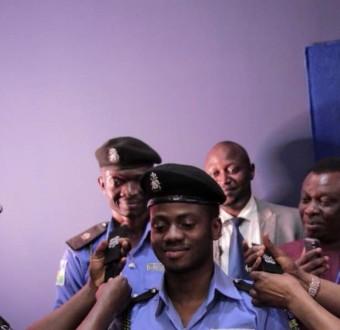 Photos: IG, Ibrahim Idris decorates Korede Bello as honorary Superintendent of Police
