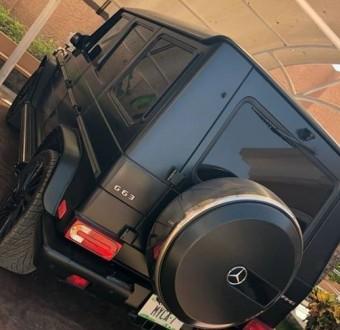 Ahmed Musa buys himself a Mercedes Benz G Wagon (G 63) AMG