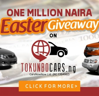 TokunboCars.NG Gives N1million to Customers In Easter Promo