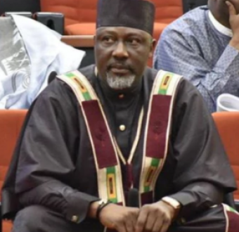 Update: Dino Melaye allegedly jumped out of police vehicle conveying him to Kogi state and ran into the bush