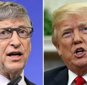 """Trump twice asked me the difference between HIV and HPV,"" Bill Gates dishes on his meeting with Trump"