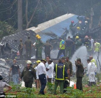 Over 100 people killed as Cuban Boeing 737 carrying 113 passengers and crew explodes moments after taking off from Havana airport