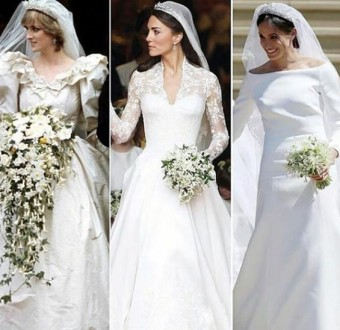 #RoyalWedding: Princess Diana VS Kate Middleton VS Meghan Markle... which gown is your favourite?