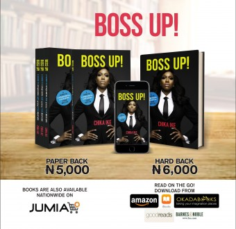 "Nollywood Actress Chika Ike releases new book .. Titled: ""BOSSUP!"