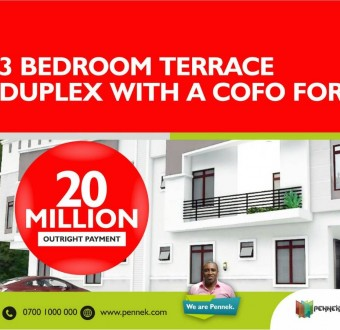 Own a duplex in Lekki Southern Villa, Pennek Drive