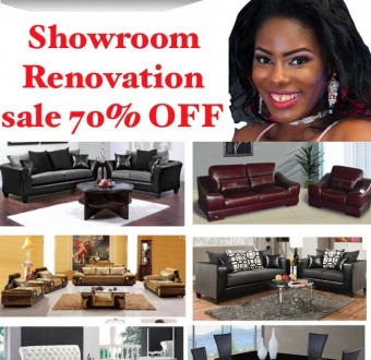 Renovation sales! Renovation of one of the largest furniture showroom in Nigeria