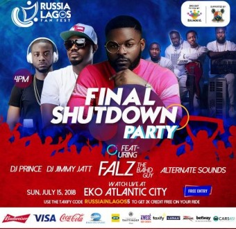Lit Experience: Watch the finals at Russia in Lagos with a grand finale eventthis Sunday