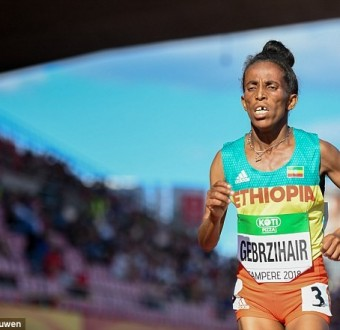 They say this Ethiopian runner competing at the World Under-20 Championships in Finland is 16 years old..huh? (Photos)