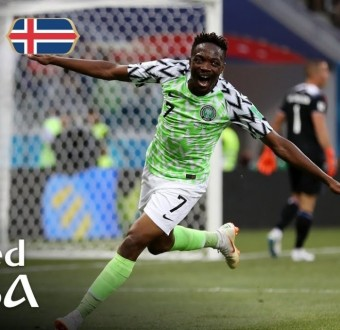 Ahmed Musa gets a nomination for goal of the 2018 World Cuptournament