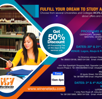Shape your Future- Study in Spain, Germany, Switzerland, Cyprus, UK, US and many others