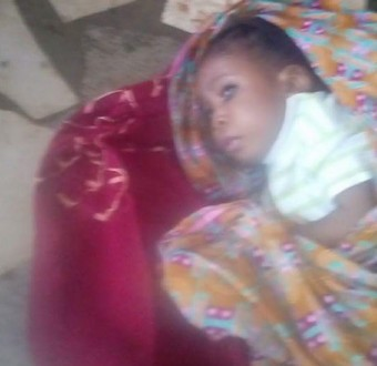 6-month-old baby found dumped in a shop along Orile Agege road (photos)