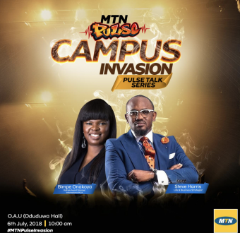 MTN Pulse Talk Series fires up OAU students