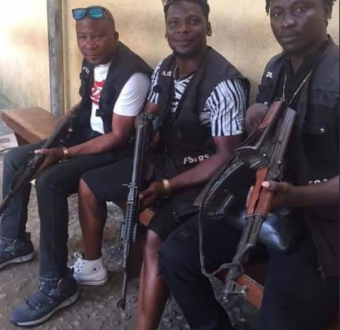 """Should a law enforcement officer look like this?"" Nigerians ask in shock after seeing photos of SARS officers"