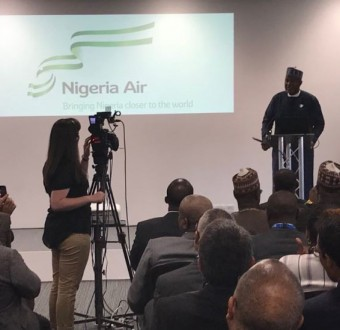 """Federal Government unveilsnewNational Carriercalled""""Nigeria Air"""""""