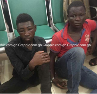 Two cousins sentenced to death by hanging for murdering a pastor(Photos)