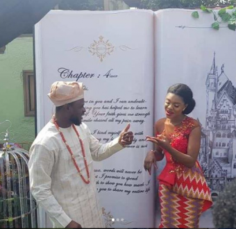 More photos from wedding of Ghanaian singer Becca and Ice Prince's former manager,  Tobi Sanni Daniel in Ghana