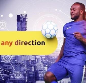 Victor Moses Unveiled As Binomo Brand Ambassador