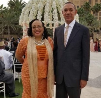 Senator Ben Bruce celebrates 40th wedding anniversary with his wife, Evelyn Murray-Bruce