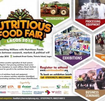 The 4th Nutritious Food Fair 2018