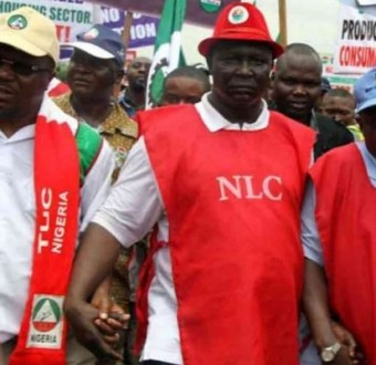 Breaking:NLC to begin nationwide strike on Thursday over minimum wage