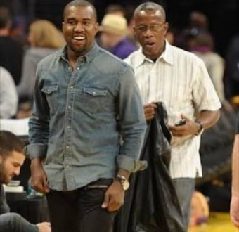 Kanye West and his dad dine on a plate of bugs to celebrate his beating cancer