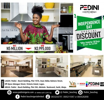 Introducing The Pedini-Bosch Independence Kitchen price slash