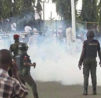 Police Attack: