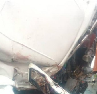 One dead, three injured as tanker and truck collide along Ijebu Ode/Benin Expressway