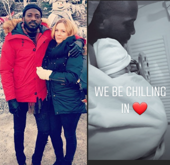 Singer May D and his Swedish fiancee, Carolina Wassmuth welcome a son (Photo)