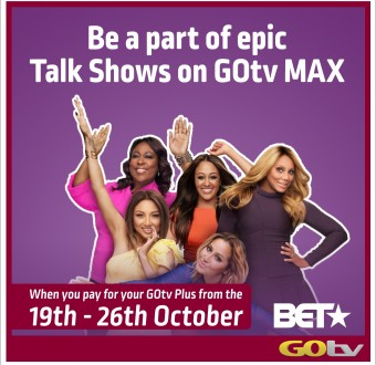 5 Reasons We Can't Wait for GOtv Open Week