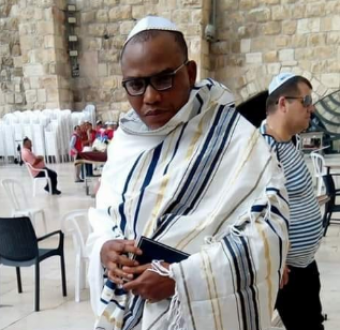 IPOB leader, Nnamdi Kanu spotted in Jerusalem (photos/video)