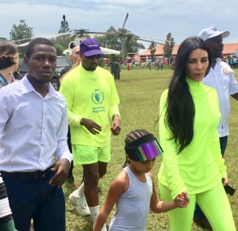 """""""I think I have made it in life""""-  Ugandan man says after meeting Kanye, Kim Kardashian, and North West"""