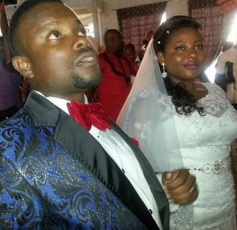 Comic actor, Okon and wife celebrate 5th wedding anniversary